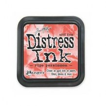 Distress Ink Pad - RIPE PERSIMMON - scrapbook