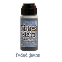 Ranger - Distress Stain FADED JEANS - scrapbook