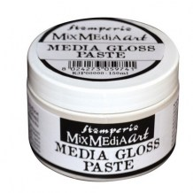 Stamperia - MEDIA GLOSS PASTE - embossovací pasta