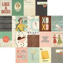 Simple Stories - THE RESET GIRL 3x4 Journaling Cards