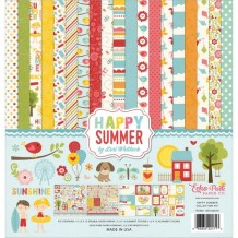 Echo Park - HAPPY SUMMER Collection Kit - kompletní sada