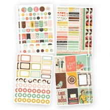 Simple Stories - THE RESET GIR Planner Basics Stickers - samolepky
