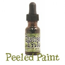 Distress Reinker - PEELED PAINT - scrapbook