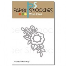 Paper Smooches - ADORABLE ARRAY - vyřezávací šablona