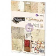 Prima Marketing - VINTAGE EMPORIUM A4 Collection Kit - sada