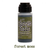 Ranger - Distress Stain FOREST MOSS - scrapbook