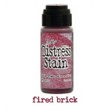 Ranger - Distress Stain FIRED BRICK - scrapbook