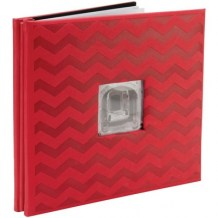 Scrapbookové album 12x12 - Pioneer RED CHEVRON