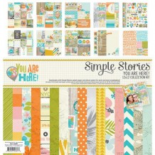 Simple Stories - YOU ARE HERE Collection Kit - kompletní sada