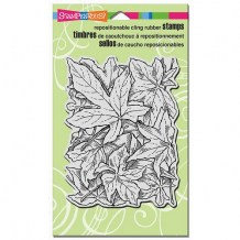 Stampendous - LEAF BACKGROUND - cling razítko