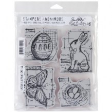 Stampers Anonymous - EASTER BLUEPRINT - cling razítka