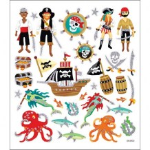 Sticker King - SEA PIRATES Stickers - samolepky