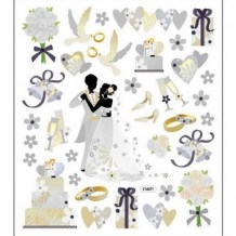 Sticker King - WEDDING Stickers - samolepky