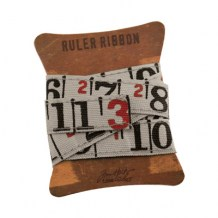 Tim Holtz - RULER RIBBON - scrapbook