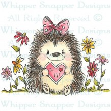 Whipper Snapper - LOVE YOU HEDGY - cling razítko